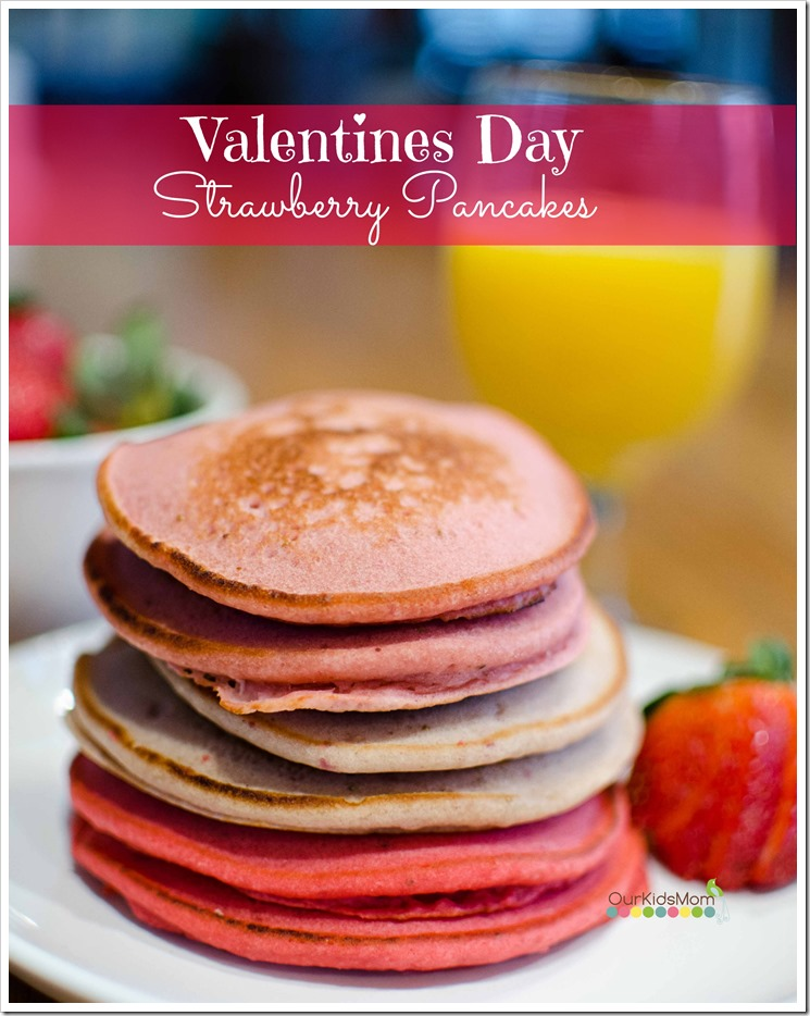 Now You Have A Nice Stack Of Pink Strawberry Pancakes!