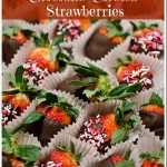 Chocolate Covered Strawberries | Directions for Valentines Day