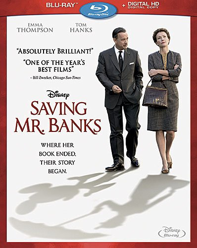 Saving Mr Banks Blu Ray Combo Pack