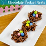 Welcome Spring! DIY Chocolate Pretzel Birds Nest