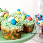 Homemade Coconut Birds Nest Cupcakes Recipe
