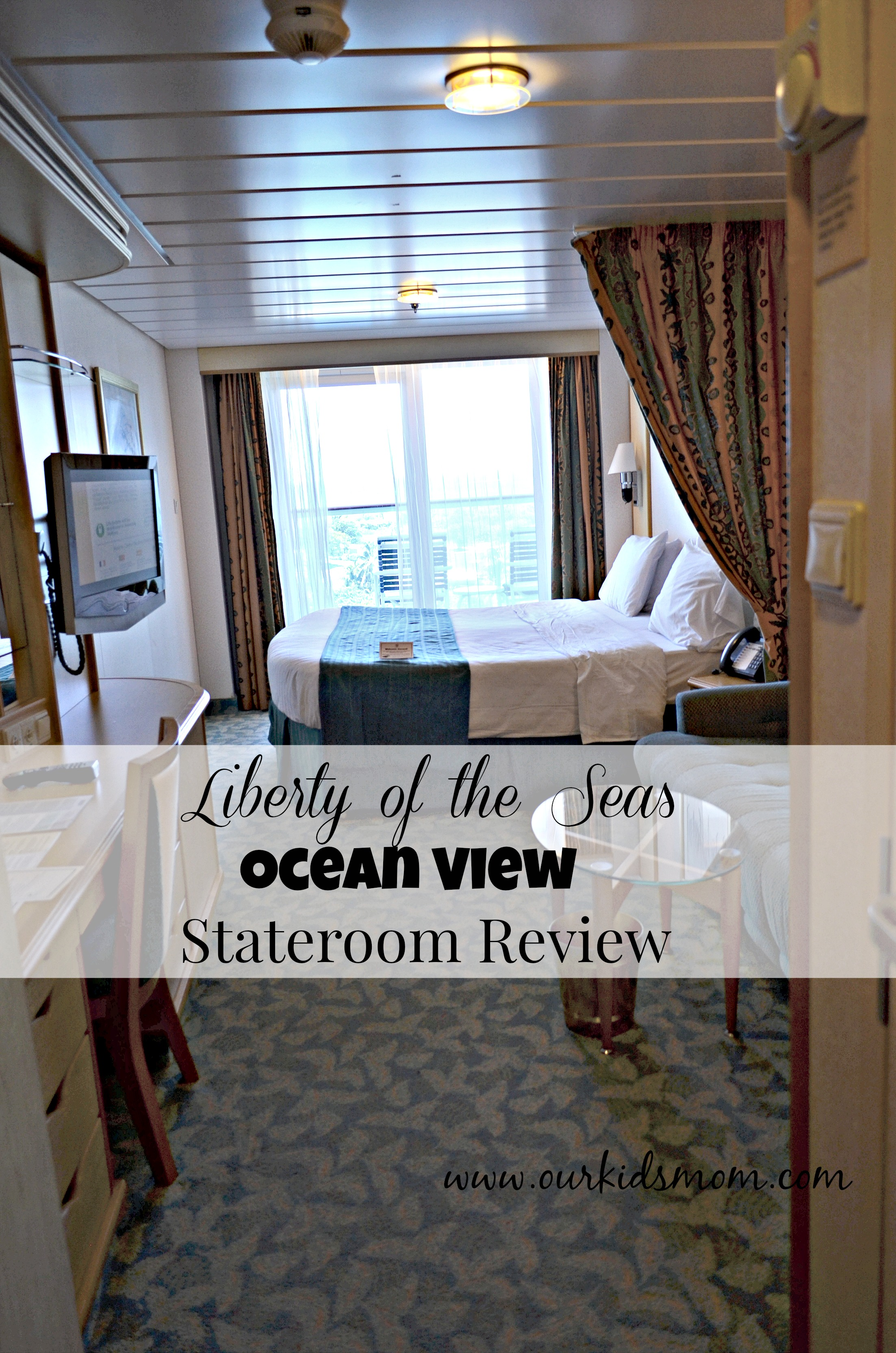 Rooms Review: Liberty Of The Seas Ocean View Stateroom With Balcony Review