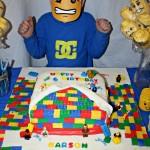 Karson Turns 6 | Rainbow Waffles and Lego Party Ideas