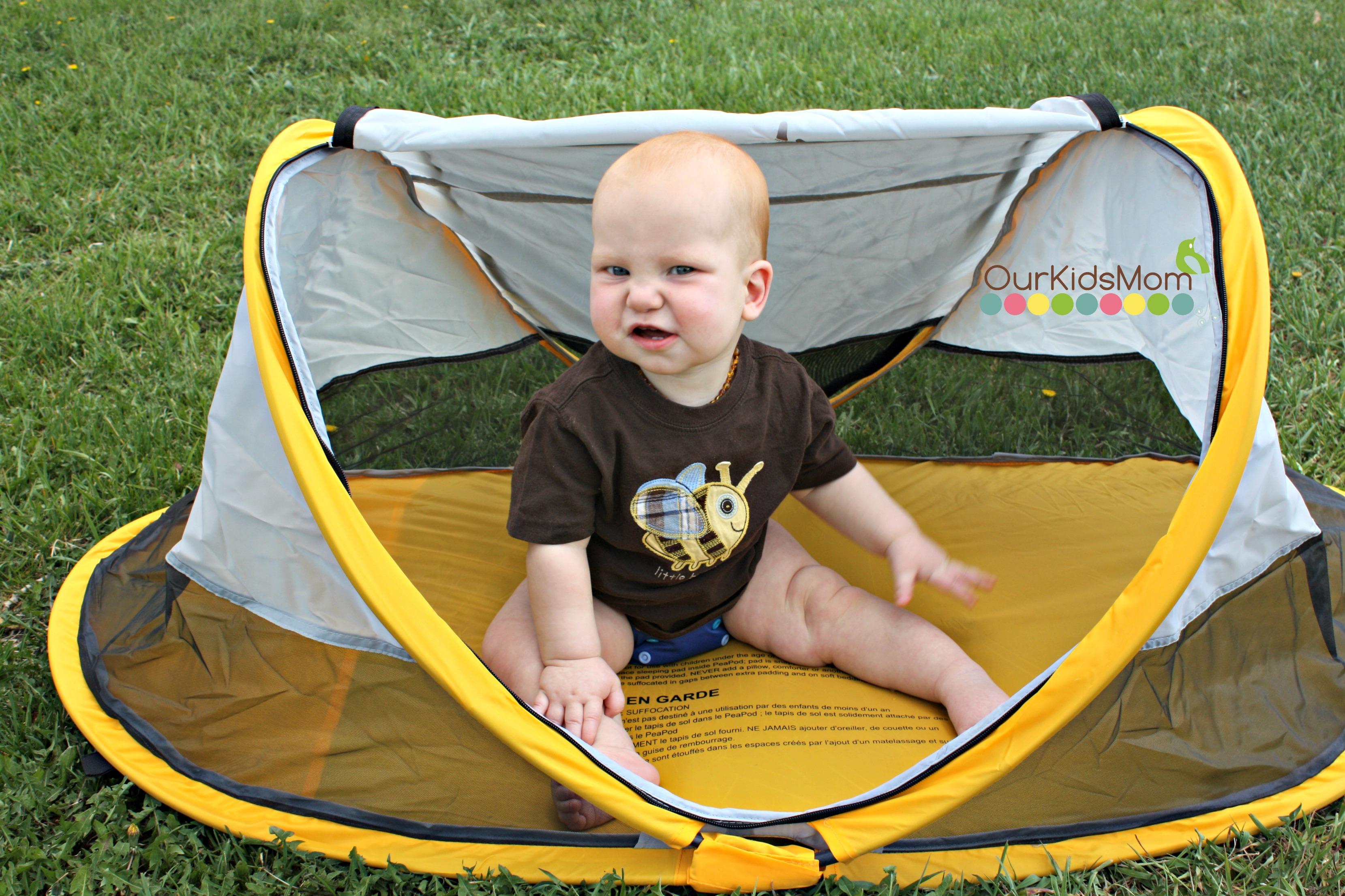 Using the tent outside