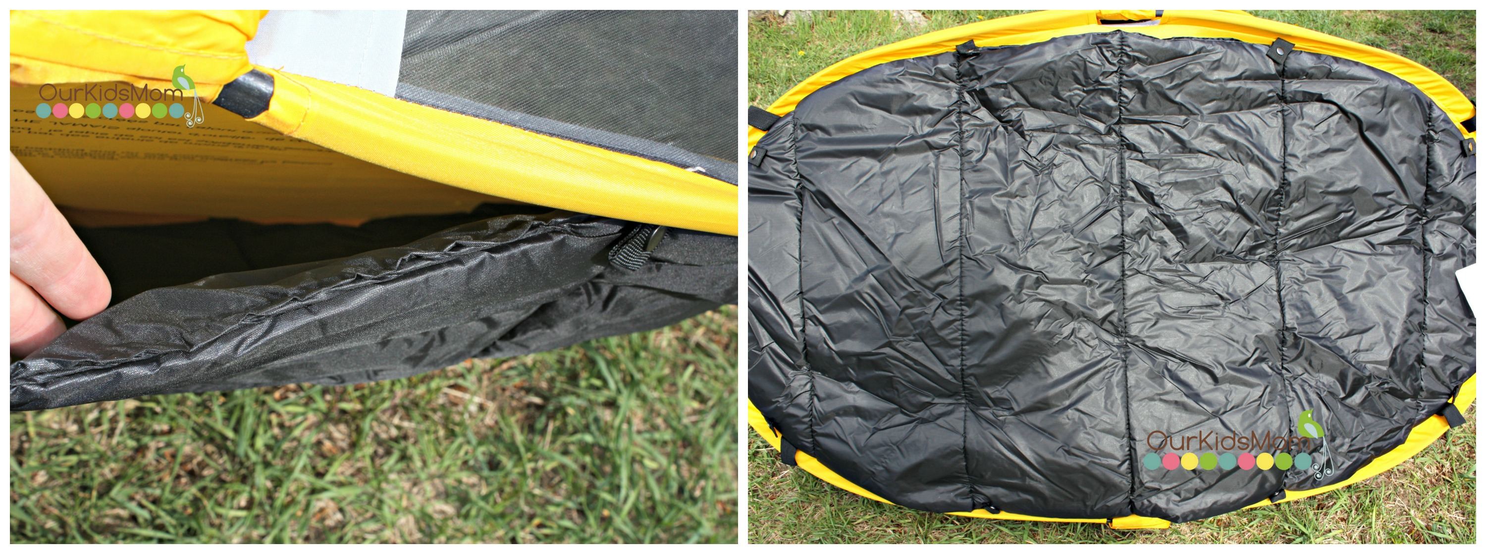 The tent comes with a Micro-Lite sleeping pad that attaches to the underside of the floor with snaps. The pad is super easy to remove for cleaning and then ... & Kidco PeaPod Review