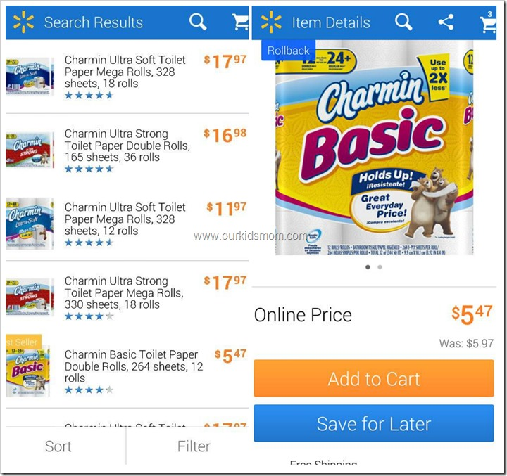 The Walmart App Makes Weekly Shopping a BREEZE