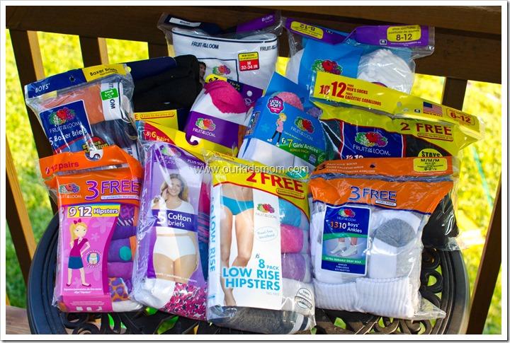 haul back to school with fruit of the loom,Womens Underwear Walmart