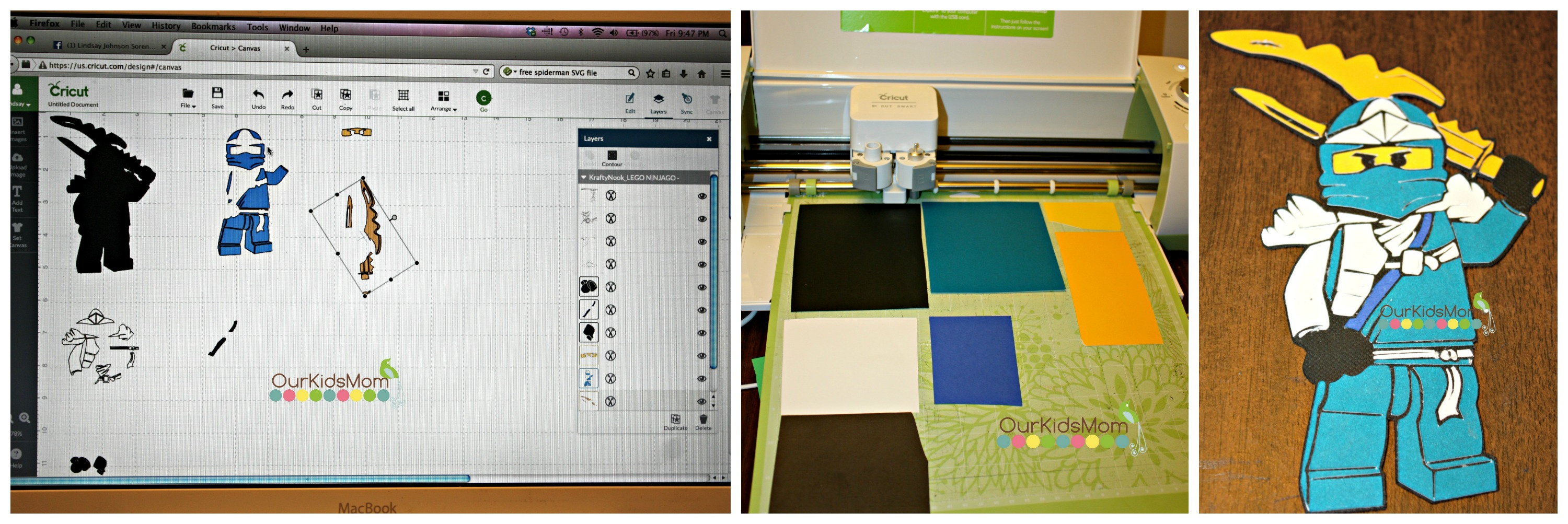 Cutting Multiple colours