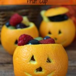 Jack o Lantern Fruit Cups Recipe