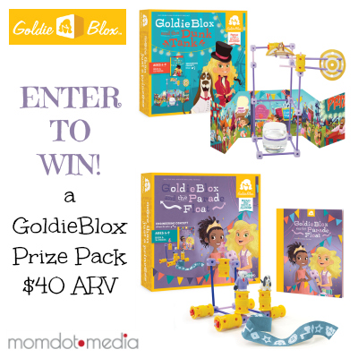 goldieblox bash giveaway graphic