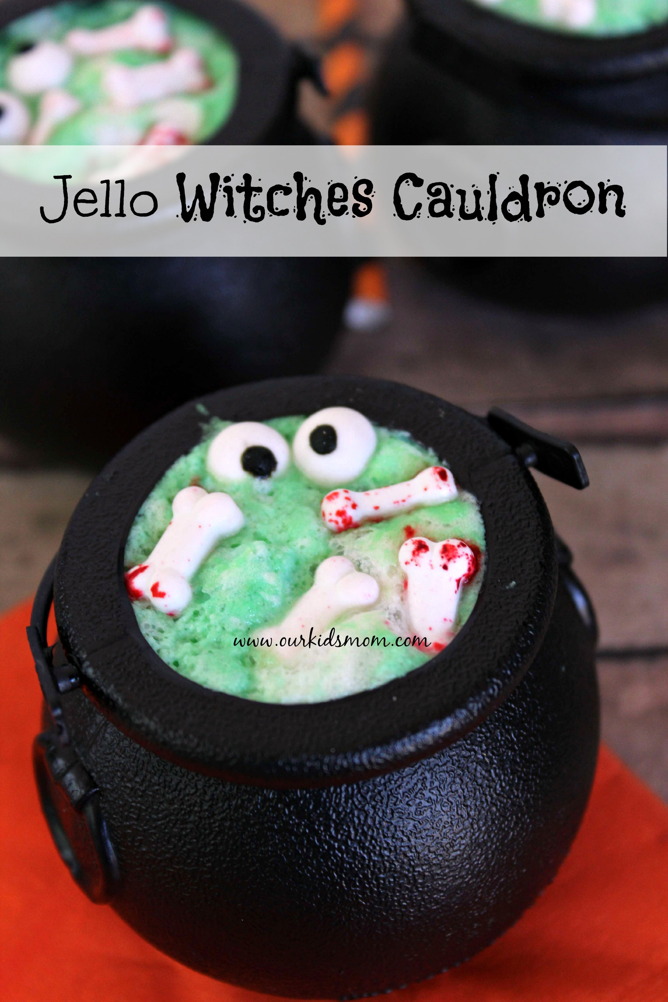 Jello Witches Cauldron