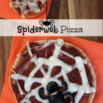 Spiderweb Pizza Snacks Recipe