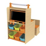 HGG | 2 in 1 Art Desk and Easel