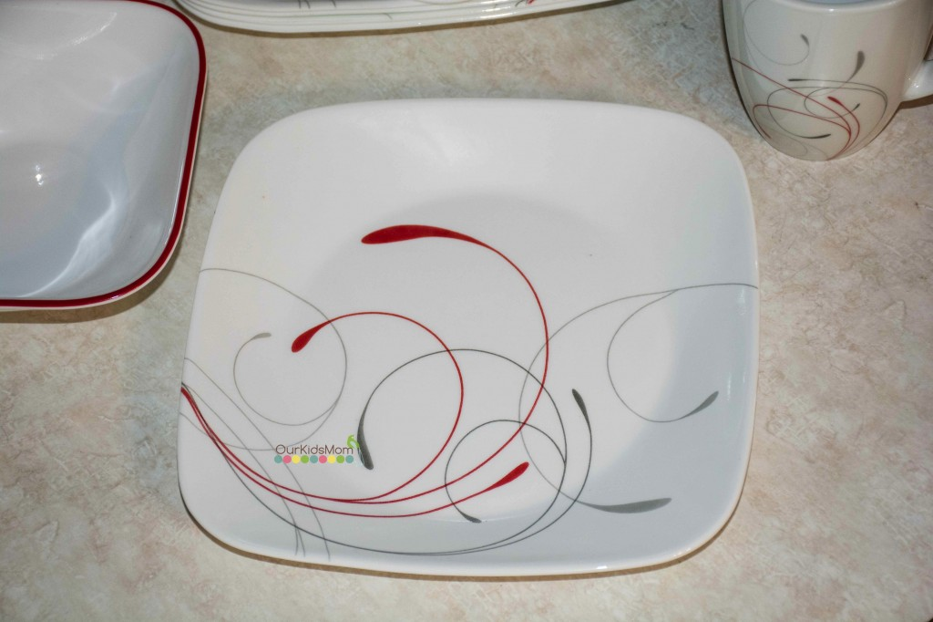 Our playful red and gray scroll pattern embodies the romantic revival trend. Patterns in this trend space depict youthful romanticism with a contemporary ... : red scroll dinnerware - Pezcame.Com