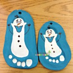 Olaf Salt Dough Ornament