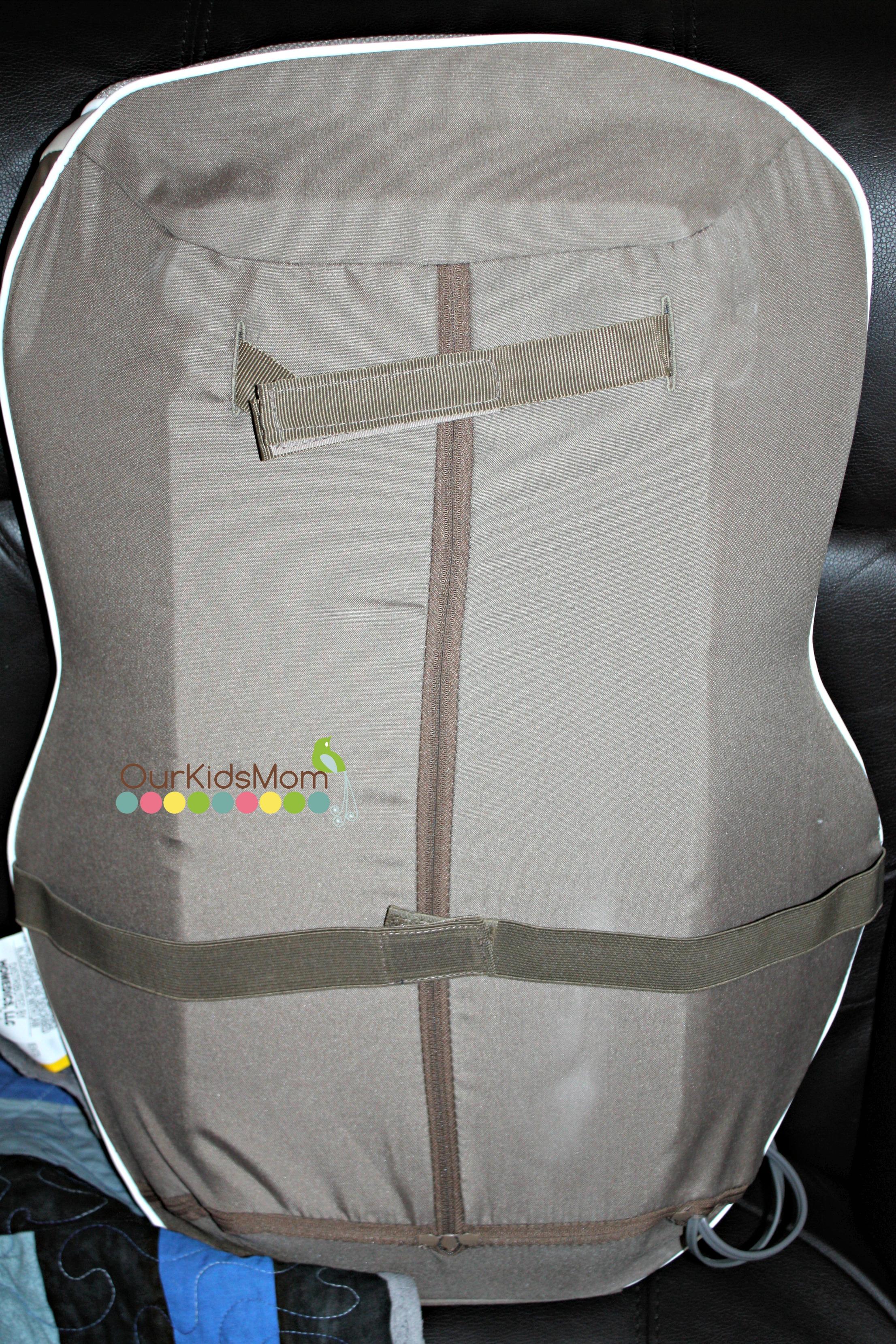 Back of the Massage Cushion