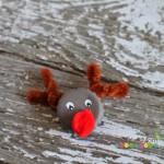 How To | Bottlecap Reindeer Magnet