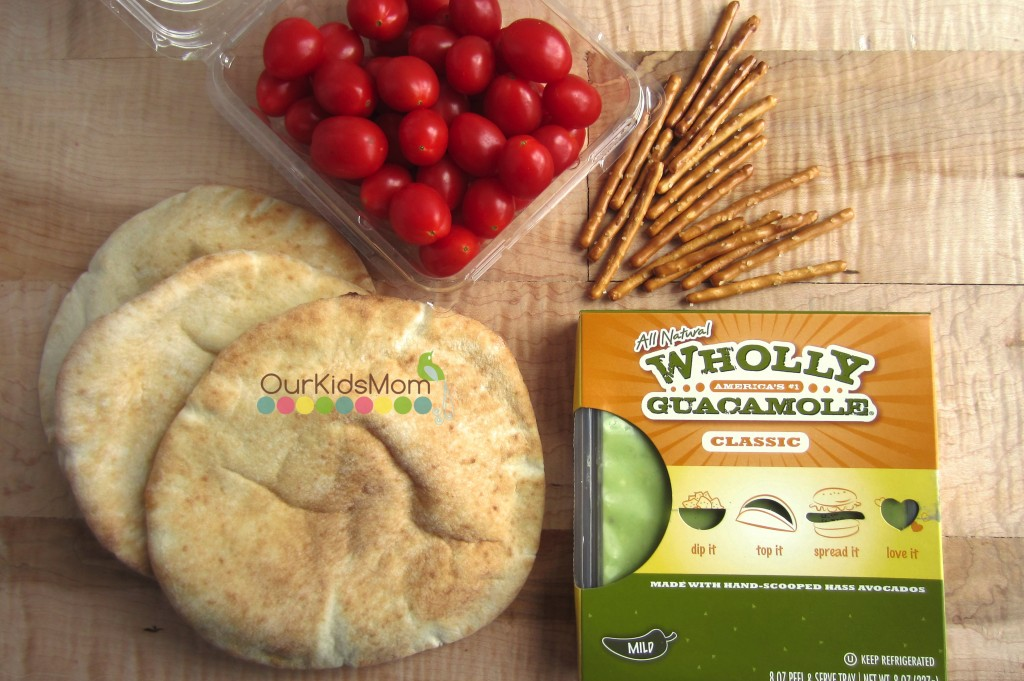 Pita Guacamole Christmas Tree Appetize 1