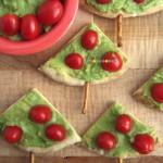 Guacamole Pita Christmas Tree Appetizer