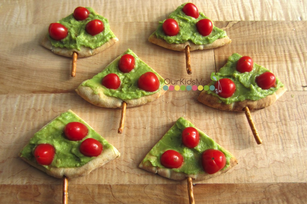 Pita Guacamole Christmas Tree Appetize Final 4