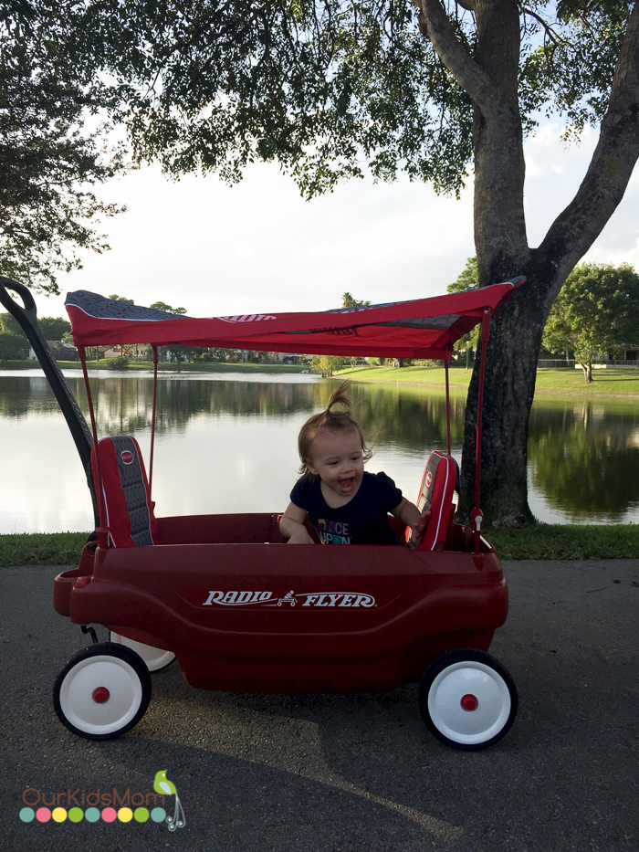 Radio Flyer Wagon Review --4