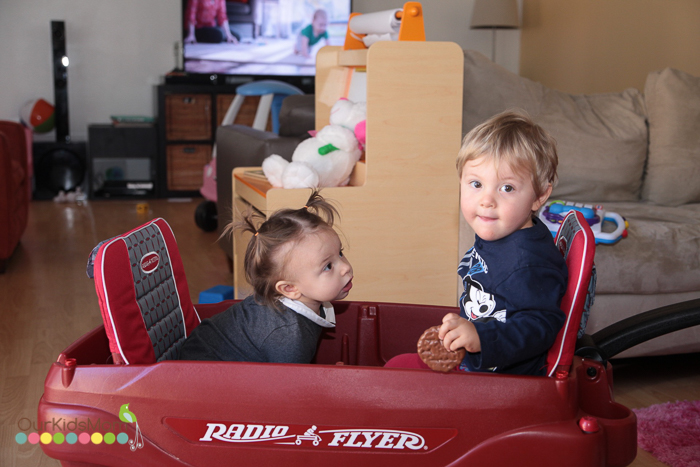 Radio Flyer Wagon Review --5