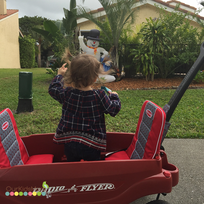 Radio Flyer Wagon Review --9