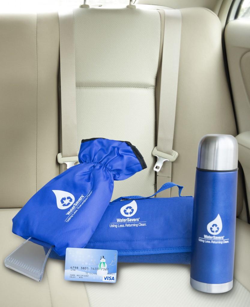 WaterSavers winter prize package