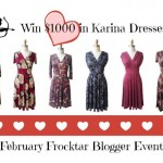 February Karina Dresses #Frockstar Event