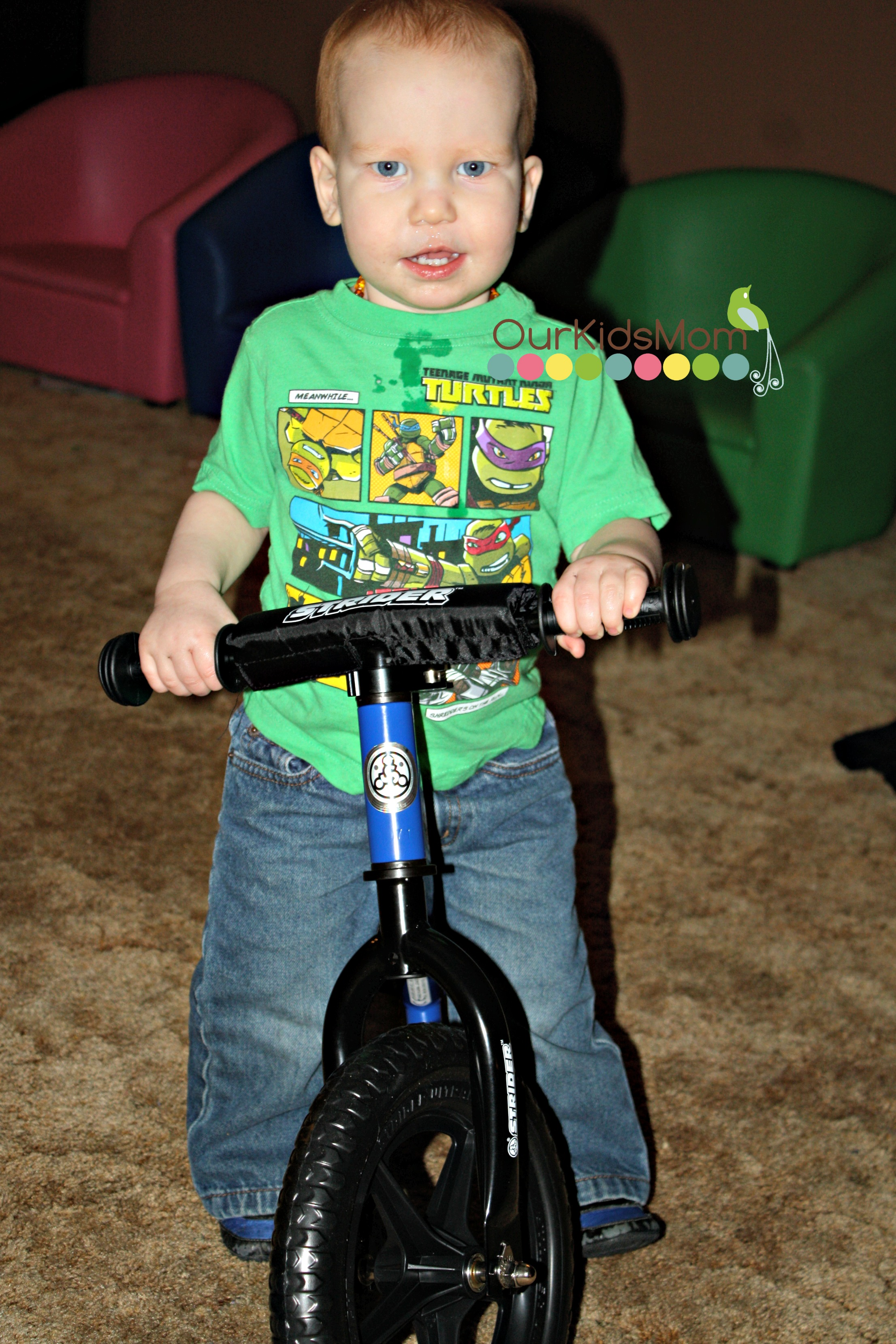 Loves his Bike
