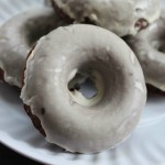 Chocolate Guinness Donuts with Baileys Glaze