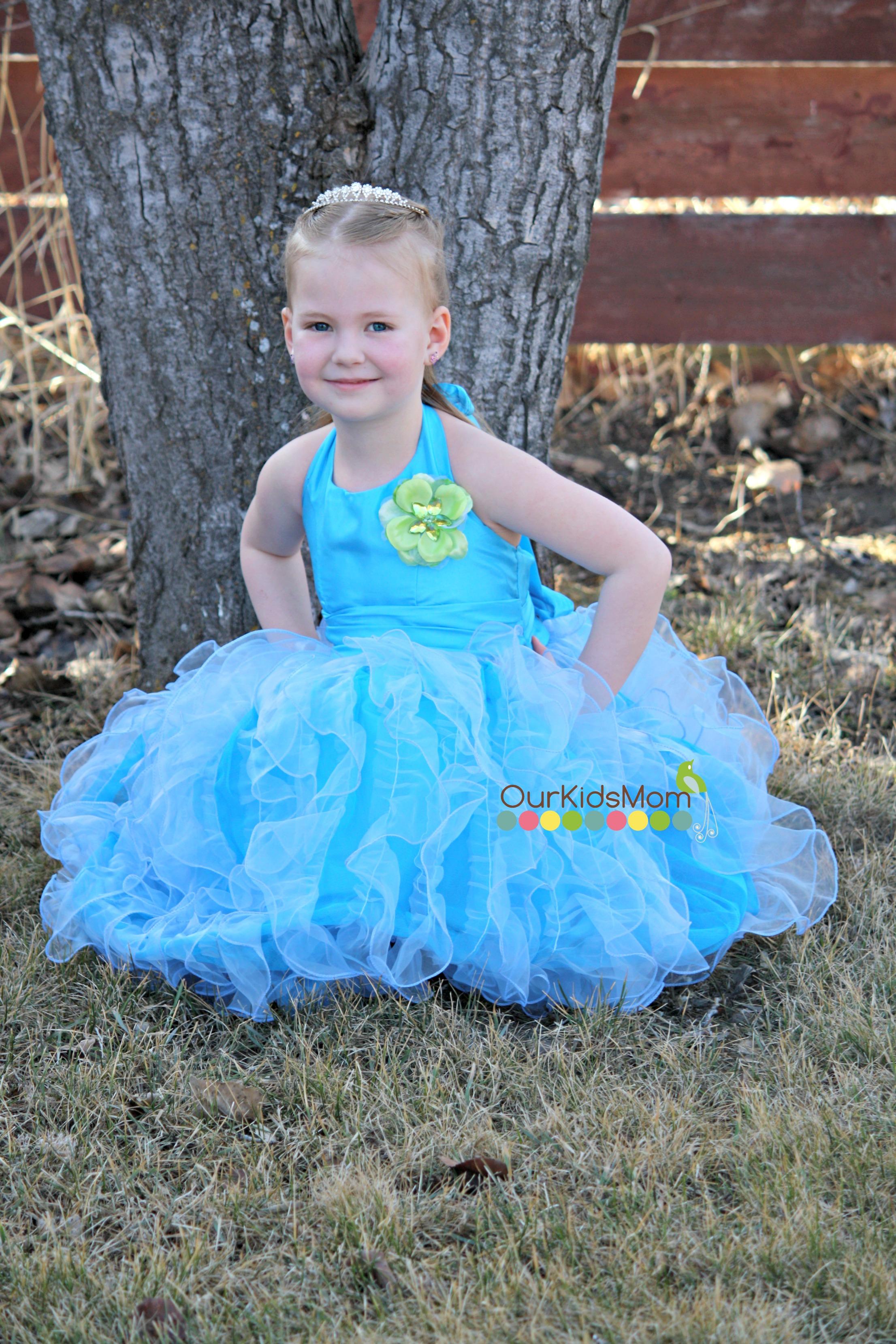 Loves her dress