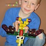 KidiTec Construction Toys Jurassic Life Set