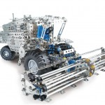 eiTech Metal Construction Sets | Combine and Tractor Trailer Set