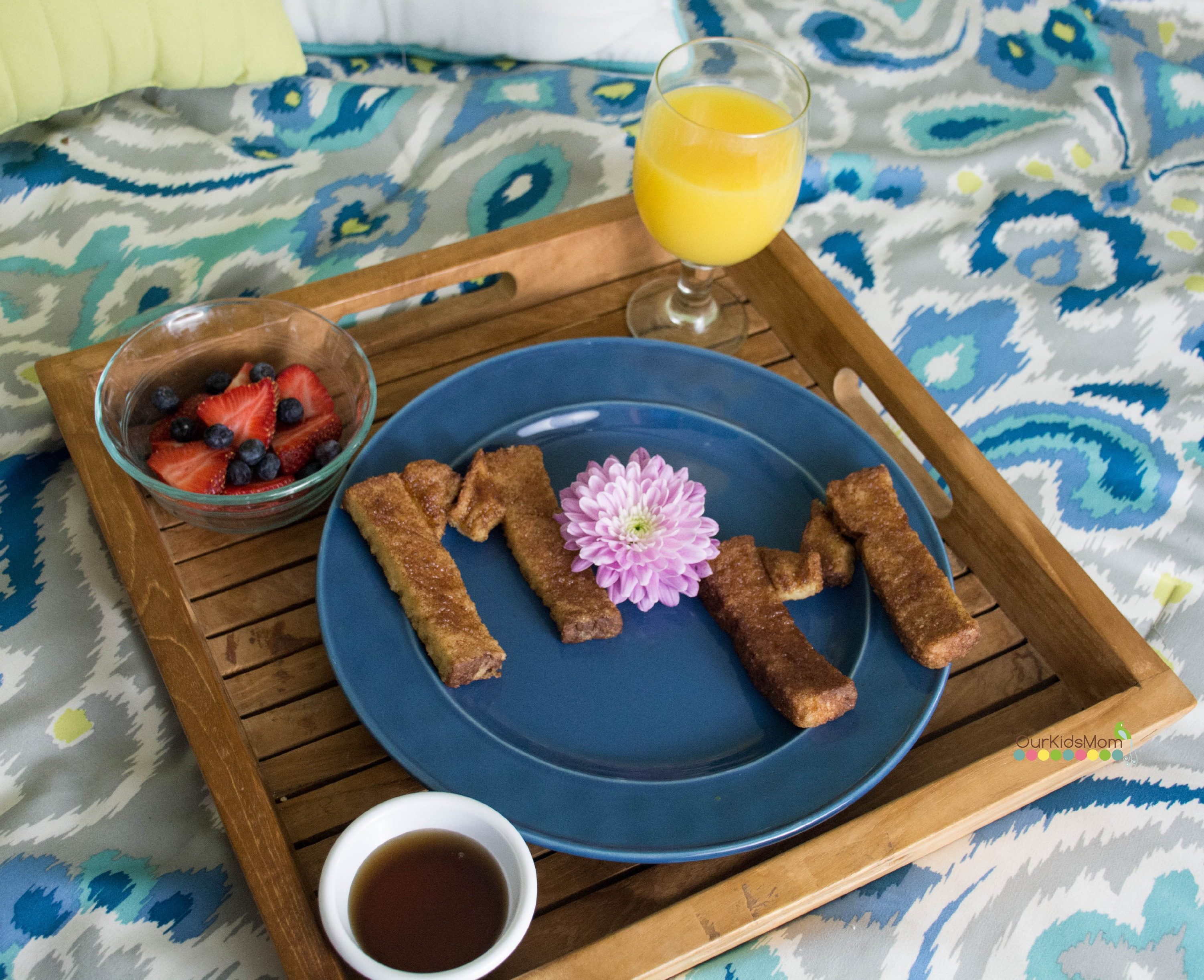 Cute and easy mother 39 s day breakfast in bed idea for Easy breakfast in bed ideas
