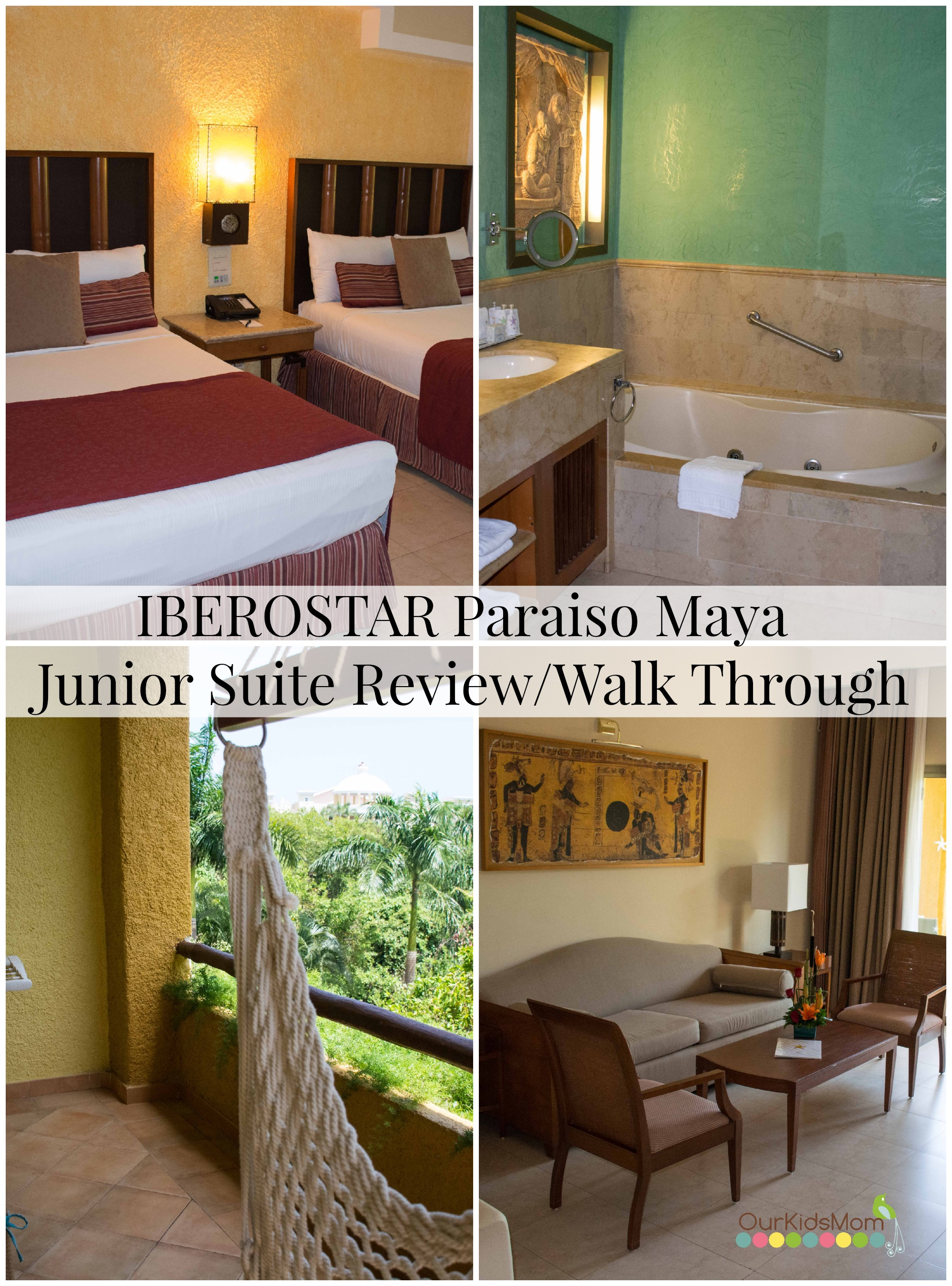 IBEROSTAR Paraiso Maya in Riviera Maya Mexico Review & Walk Through Video