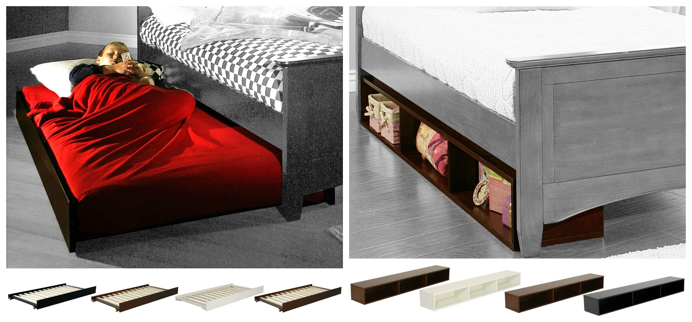 Under the bed accessories