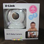 D-Link HD Pan and Tilt Wi-Fi Baby Camera (DCS-855L)