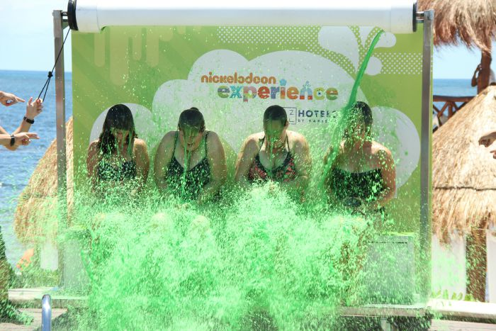 Get Slimed at Azul Beach Resort in Riviera Maya