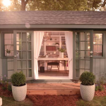 Create An Outdoor Oasis for HER with a She Shed #SheShed