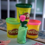 Celebrate World Play-Doh Day with a Patriotic Sculpt #WorldPlayDohDay #IC #ad