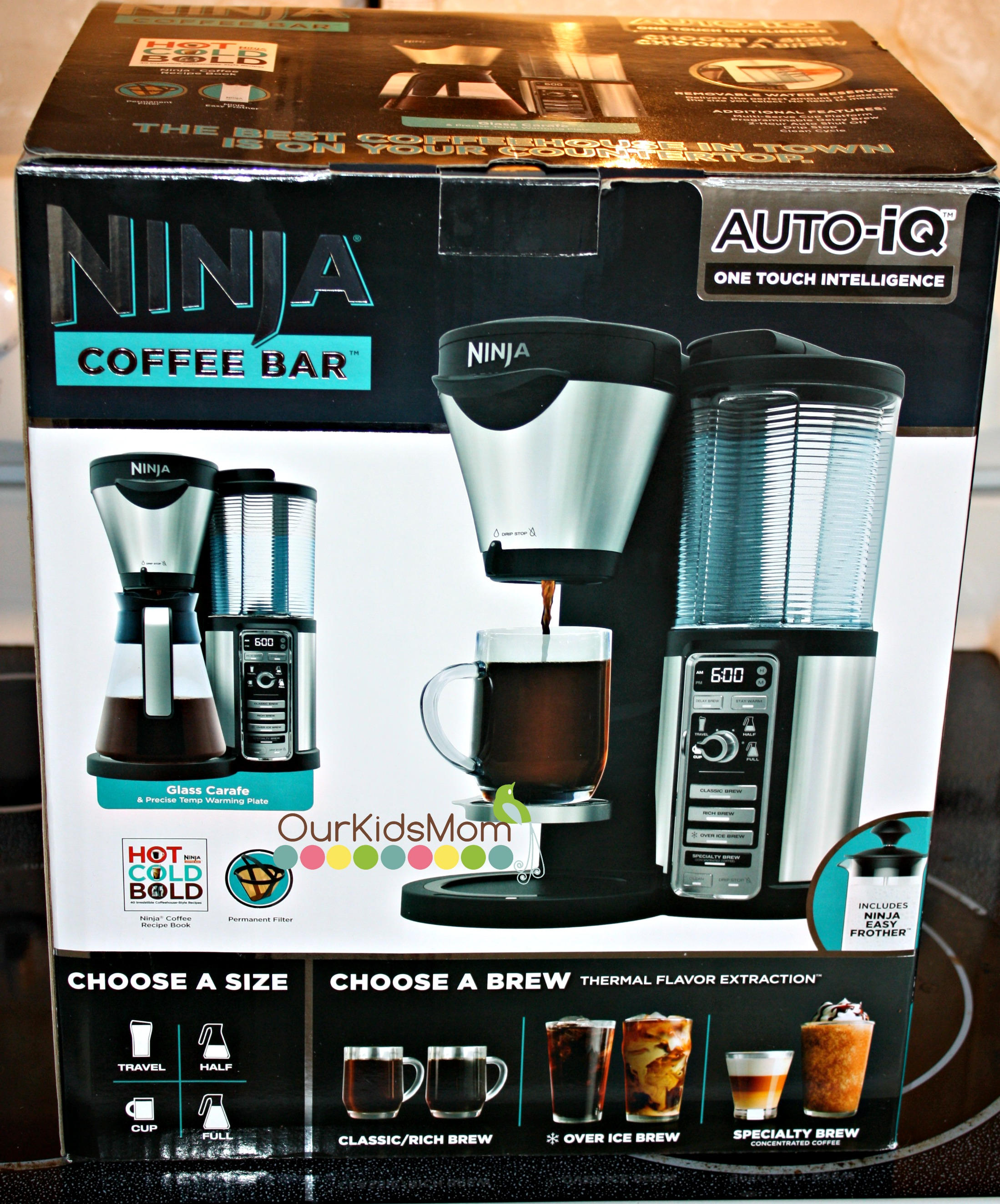 Ninja Coffee Maker Instructions : Ninja Coffee Bar