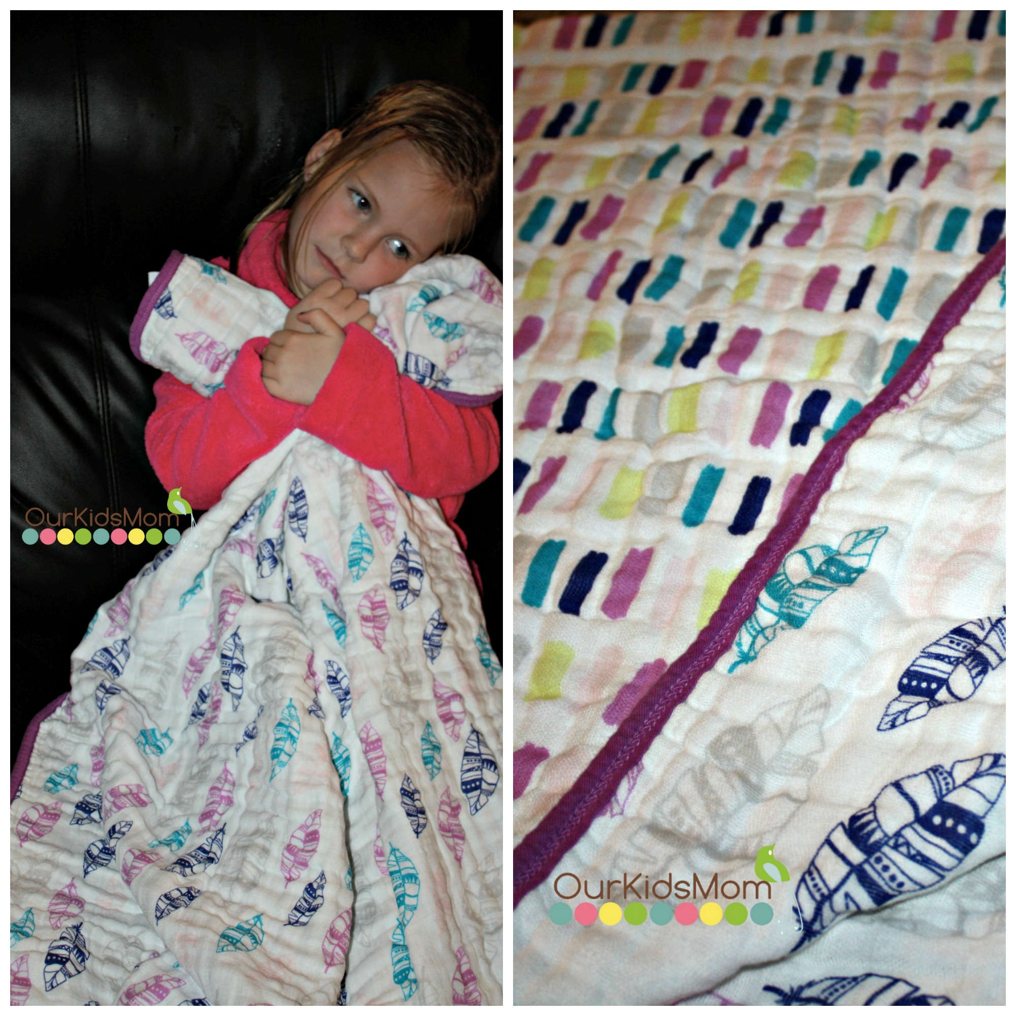 Dream Blanket Wink print