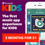 Rhapsody is a Safe Music Subscription Service For Kids | $300 Target #GIVEAWAY | end 10/30