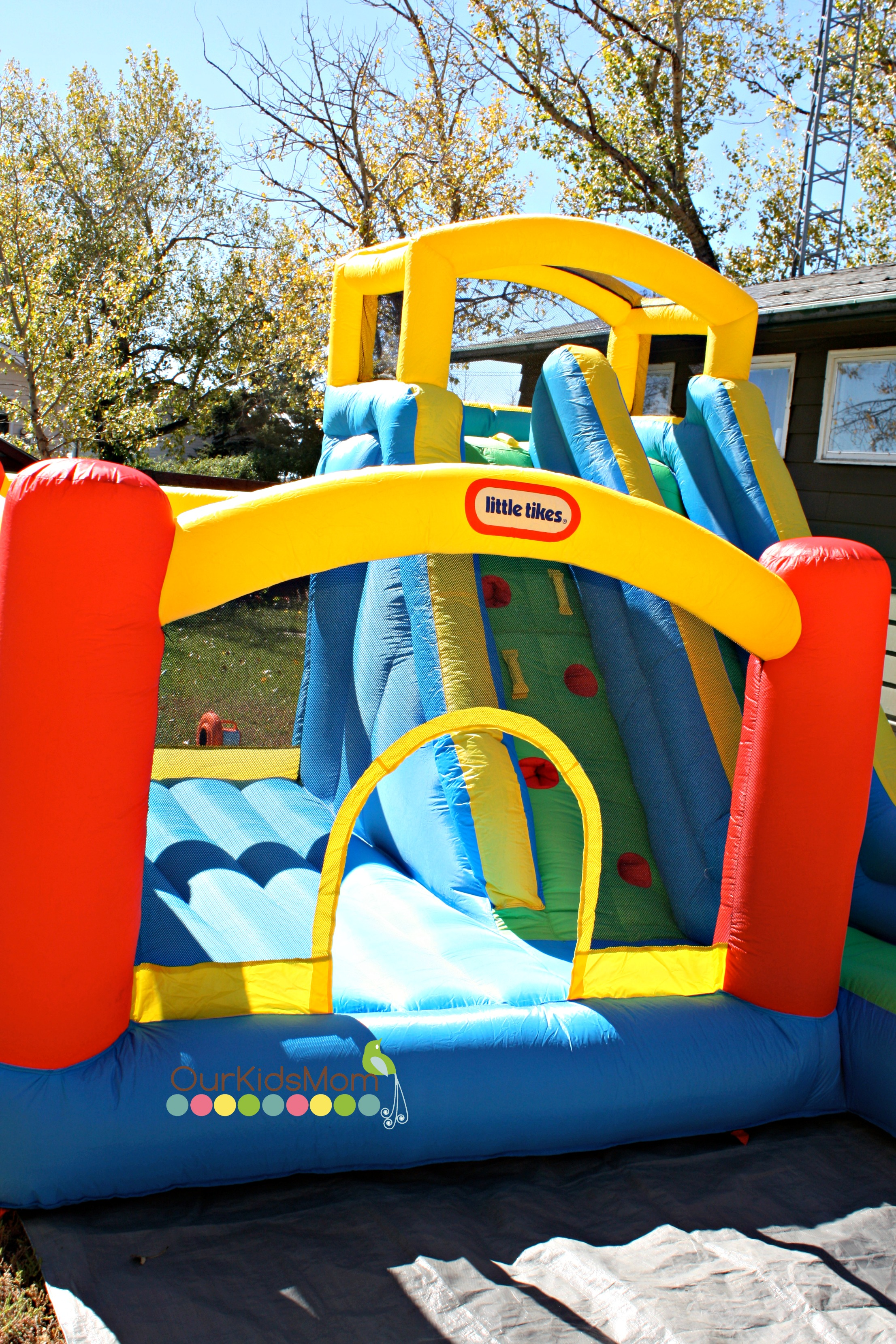 Little Tikes Giant Slide Bouncer