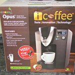 iCoffee Opus Single Serve Brewing System