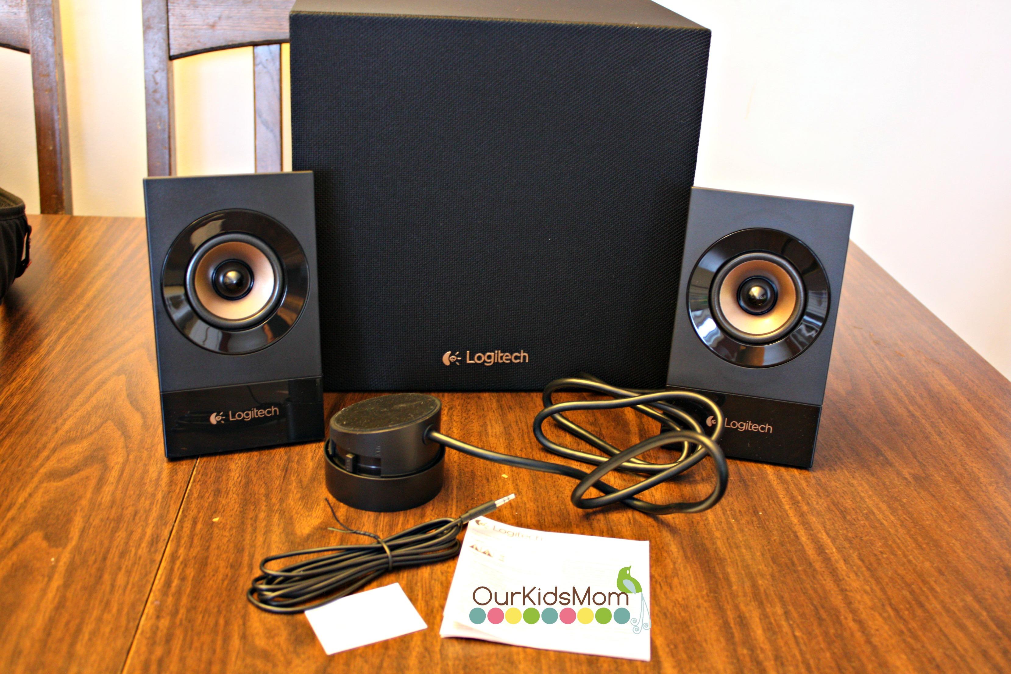 Logitech G933 Gaming Headset And Z533 Multimedia Speaker