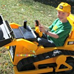 Kid Trax Ride On Bulldozer