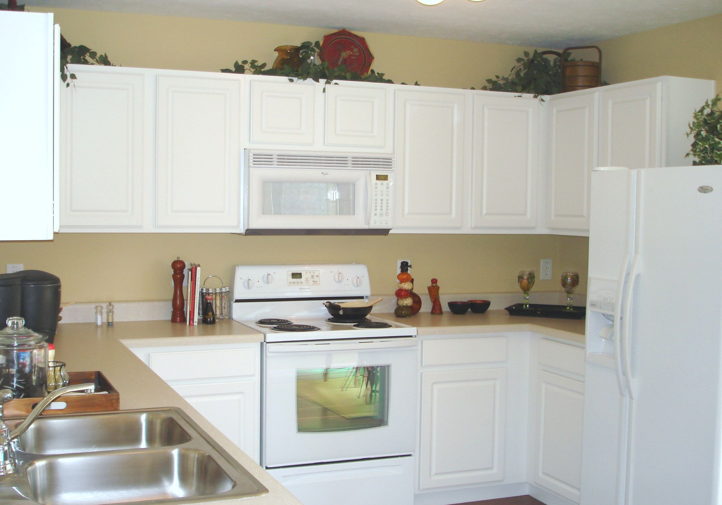 Give Your Kitchen a Facelift: Stain Your Kitchen Cabinets - OurKidsMom