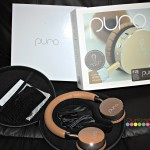 Puro Adult Bluetooth Wireless Headphones w/Hard Case